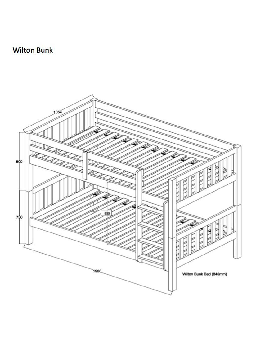 ANYDAY John Lewis & Partners Wilton Bunk Bed