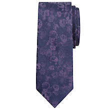 Buy Calvin Klein Faded Floral Silk Tie Online at johnlewis.com