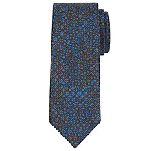 Buy Calvin Klein Floral Silk Tie Online at johnlewis.com