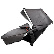 Buy Silver Cross Wave Tandem Seat Unit, Granite Online at johnlewis.com