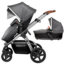 Buy Silver Cross Wave Pushchair and Carrycot, Granite Online at johnlewis.com