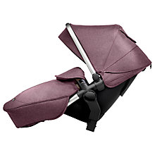 Buy Silver Cross Wave Tandem Seat Unit, Claret Online at johnlewis.com