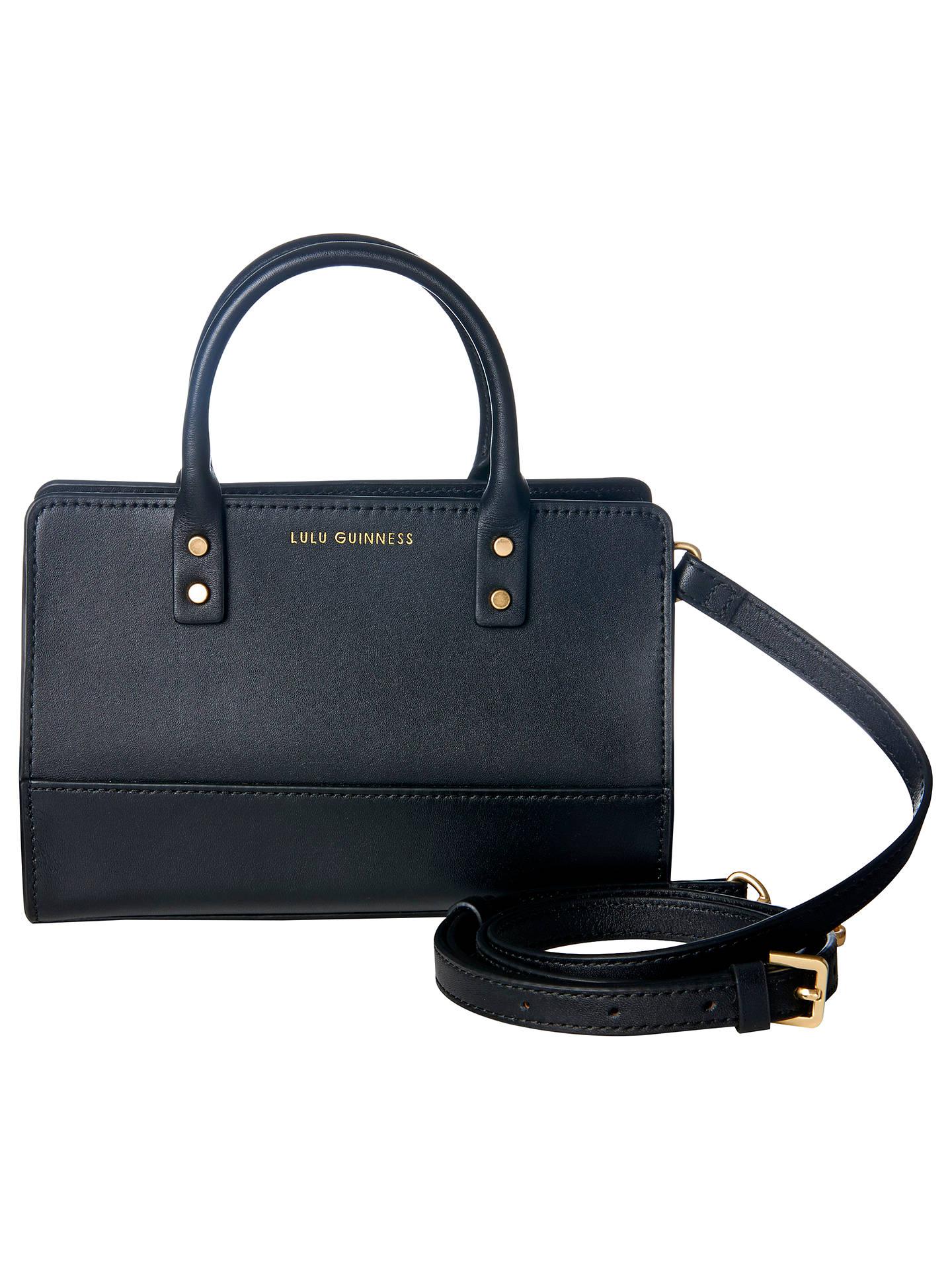 7b0df156a08d Buy Lulu Guinness Daphne Smooth Leather Mini Cross Body Bag