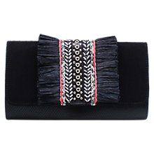 Buy Miss KG Hula Clutch Bag, Black Online at johnlewis.com