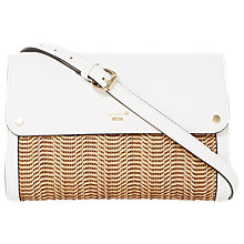 Buy Dune Elberta Raffia Clutch Bag Online at johnlewis.com