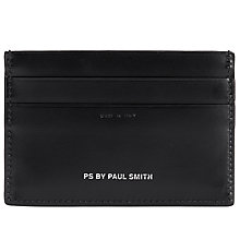Buy Paul Smith Naked Lady Card Holder, Black Online at johnlewis.com
