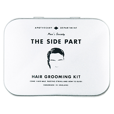 Product photo of Men s society the side part hair grooming kit