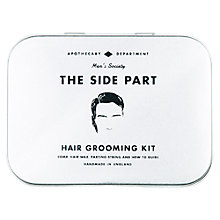 Buy Men's Society The Side Part Hair Grooming Kit Online at johnlewis.com