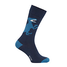 Buy Paul Smith Dinosaur Socks, One Size, Blue Online at johnlewis.com