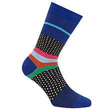 Buy Paul Smith Sport Dot Socks, One Size, Multi Online at johnlewis.com