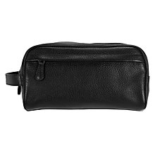 Buy John Lewis Katta Aniline Leather Wash Bag Online at johnlewis.com