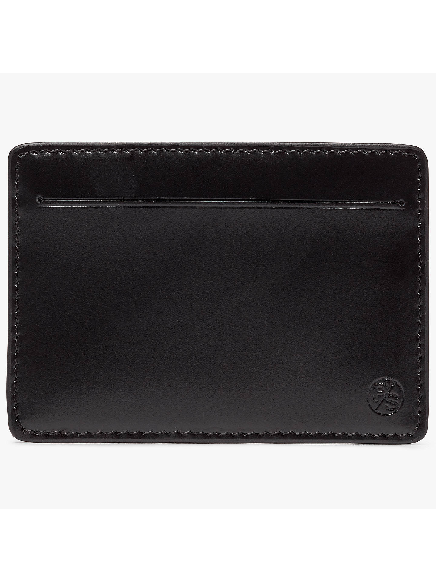 Cyclist leather card holder wallet