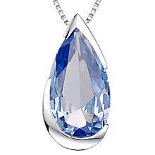 Buy Jools by Jenny Brown Sterling Silver Cubic Zirconia Pendant Necklace Online at johnlewis.com