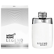 Buy Montblanc Legend Spirit Eau de Toilette, 200ml Online at johnlewis.com