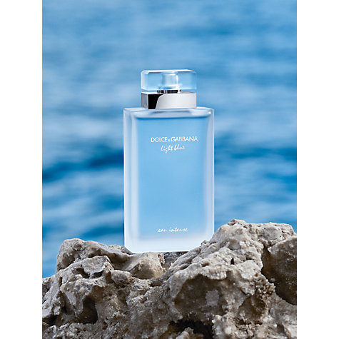 Buy Dolce & Gabbana Light Blue Eau Intense Eau de Parfum Online at johnlewis.com