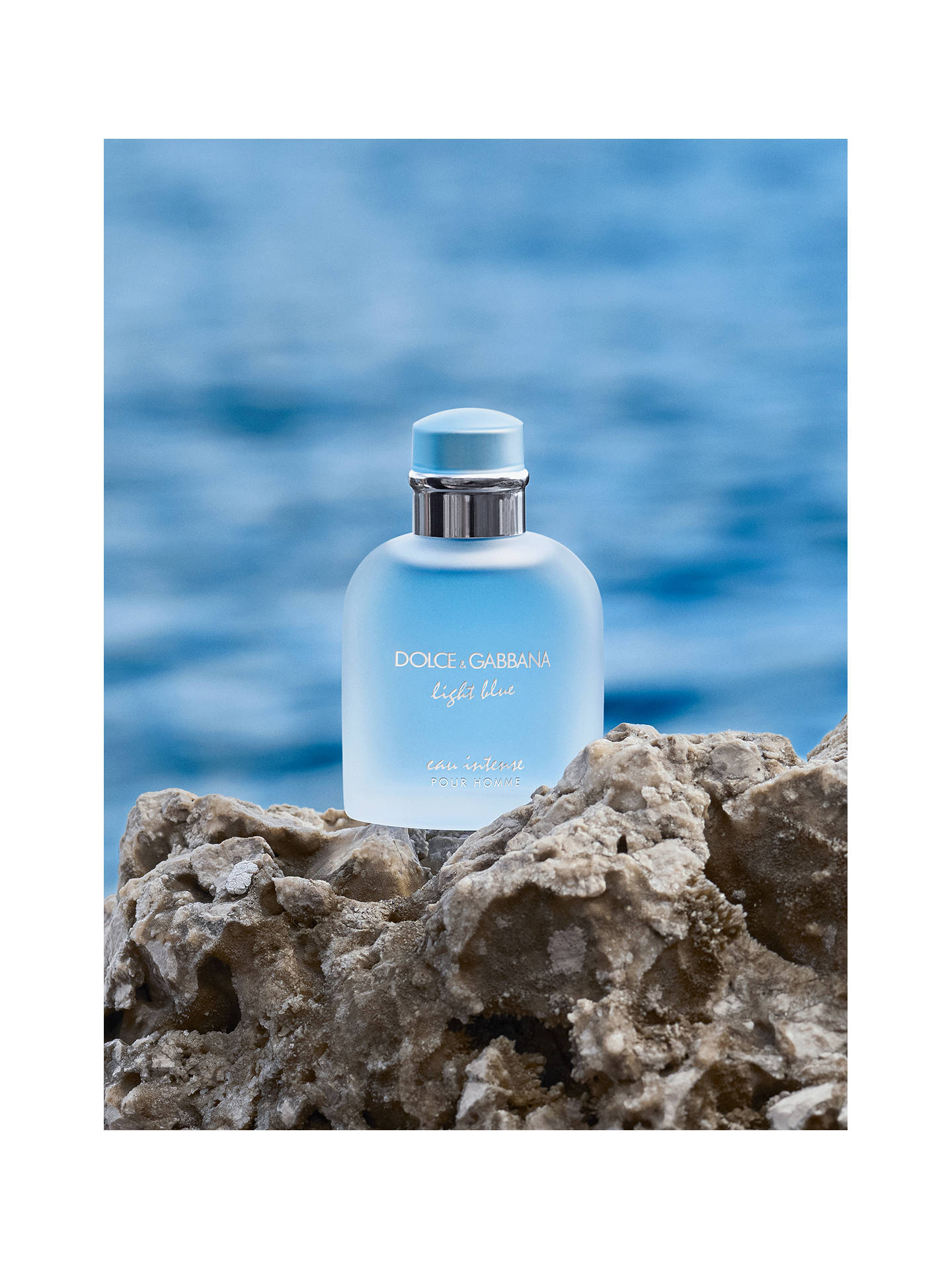 BuyDolce & Gabbana Light Blue Eau Intense Pour Homme Eau de Parfum, 50ml Online at johnlewis.com