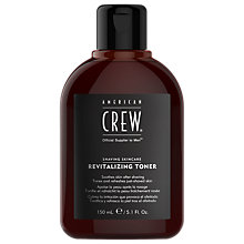 Buy American Crew Revitalizing Toner, 150ml Online at johnlewis.com