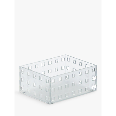 like-it Bricks Plastic Storage Boxes, Set of 4