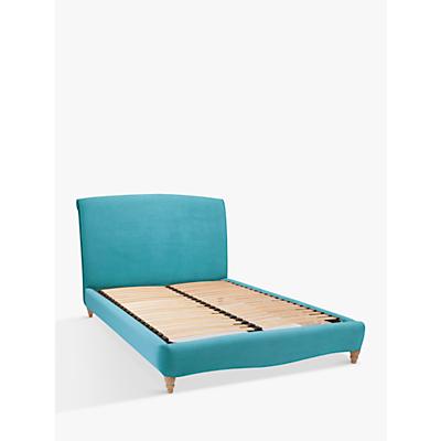 Fudge Bed Frame by Loaf at John Lewis in Clever Velvet, Super King Size