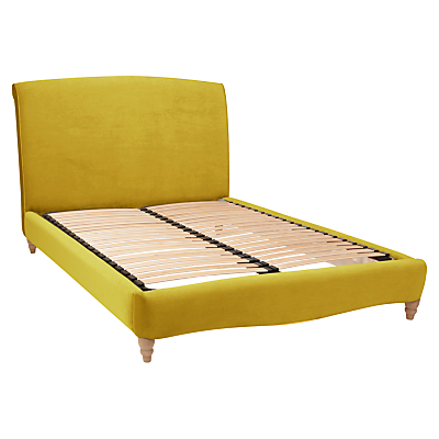 Fudge Bed Frame by Loaf at John Lewis in Clever Velvet, King Size