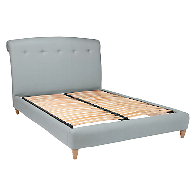 Peachy Bed Frame by Loaf at John Lewis in Clever Linen, King Size