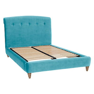 Peachy Bed Frame by Loaf at John Lewis in Clever Velvet, King Size