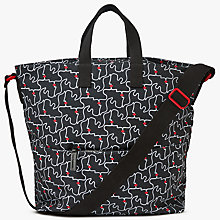 Buy Lulu Guinness Kissing Lips Tote Bag, Black/Chalk Online at johnlewis.com