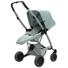 Buy Quinny Zapp Flex Plus Pushchair, Frost/Grey Online at johnlewis.com