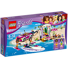 Buy LEGO Friends 41316 Andrea's Speedboat Online at johnlewis.com