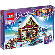 Buy LEGO Friends  41323 Snow Resort Chalet Online at johnlewis.com