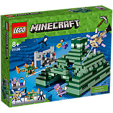 Buy LEGO Minecraft 21136 The Ocean Monument Online at johnlewis.com