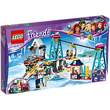 Buy LEGO Friends 41324 Snow Resort Ski Lift Online at johnlewis.com