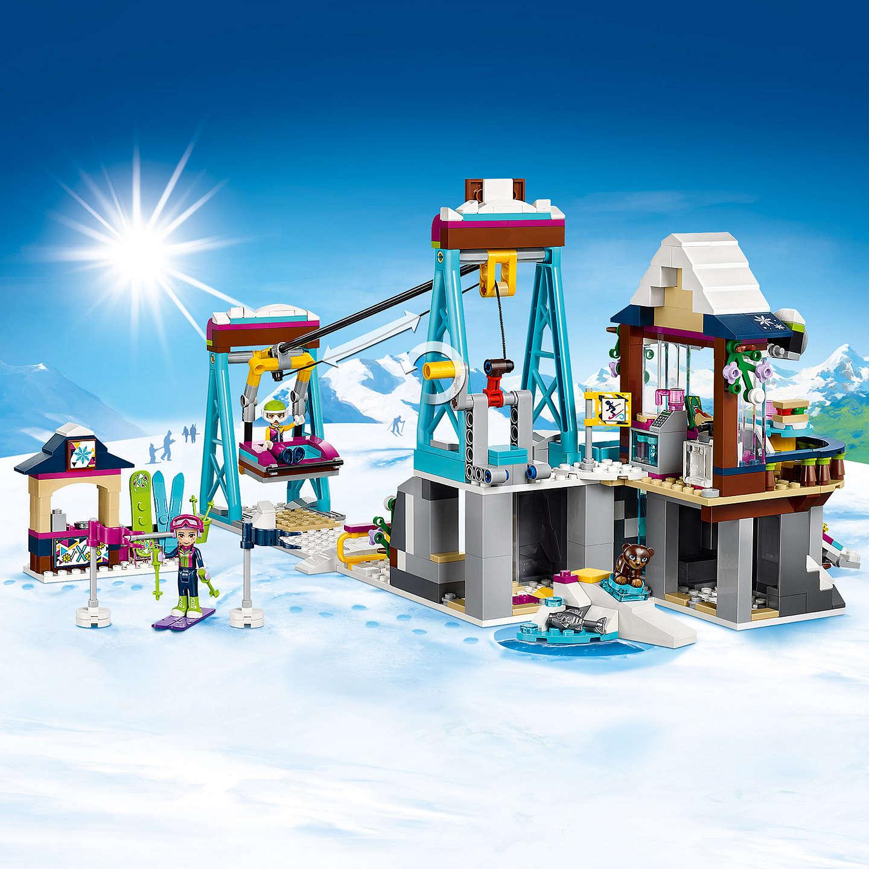 lego friends snow resort ski lift instructions