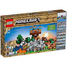 Buy LEGO Minecraft 21135 The Crafting Box 2.0 Online at johnlewis.com