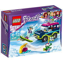 Buy LEGO Friends 41321 Snow Resort Off Roader Online at johnlewis.com