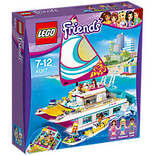 Buy LEGO Friends 41317 Sunshine Catamaran Online at johnlewis.com