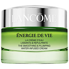 Buy Lancôme Energie De Vie The Smoothing and Plumping Water-Infused Cream, 50ml Online at johnlewis.com