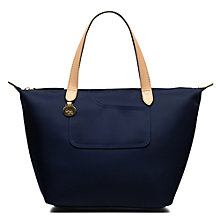 Buy Radley Pocket Essentials Fabric Small Crook Tote Bag Online at johnlewis.com