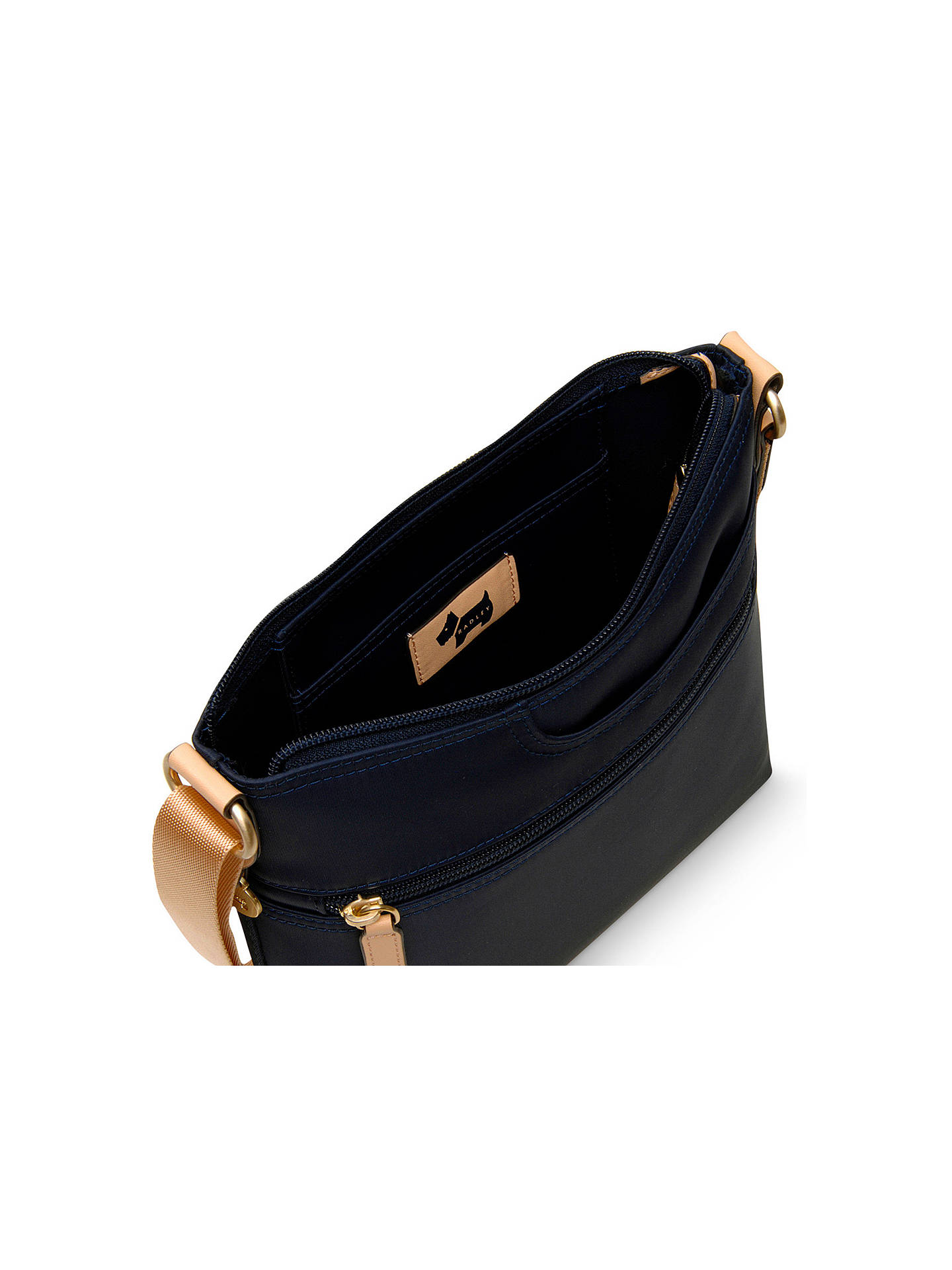 091effc592 Radley Pocket Essentials Fabric Small Cross Body Bag at John Lewis ...