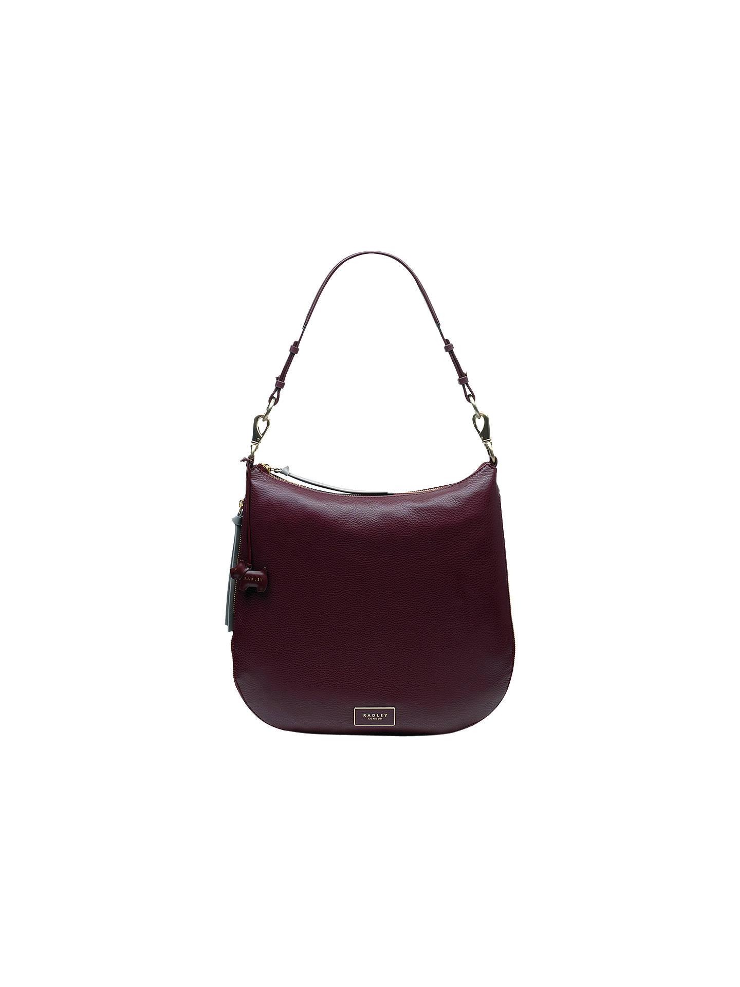 bee13c06b442 BuyRadley Pudding Lane Leather Large Hobo Bag