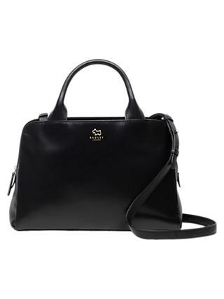 Radley Millbank Leather Medium Grab Bag Black
