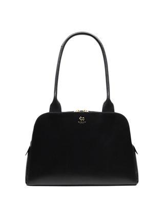 Radley Millbank Leather Medium Tote Bag Black