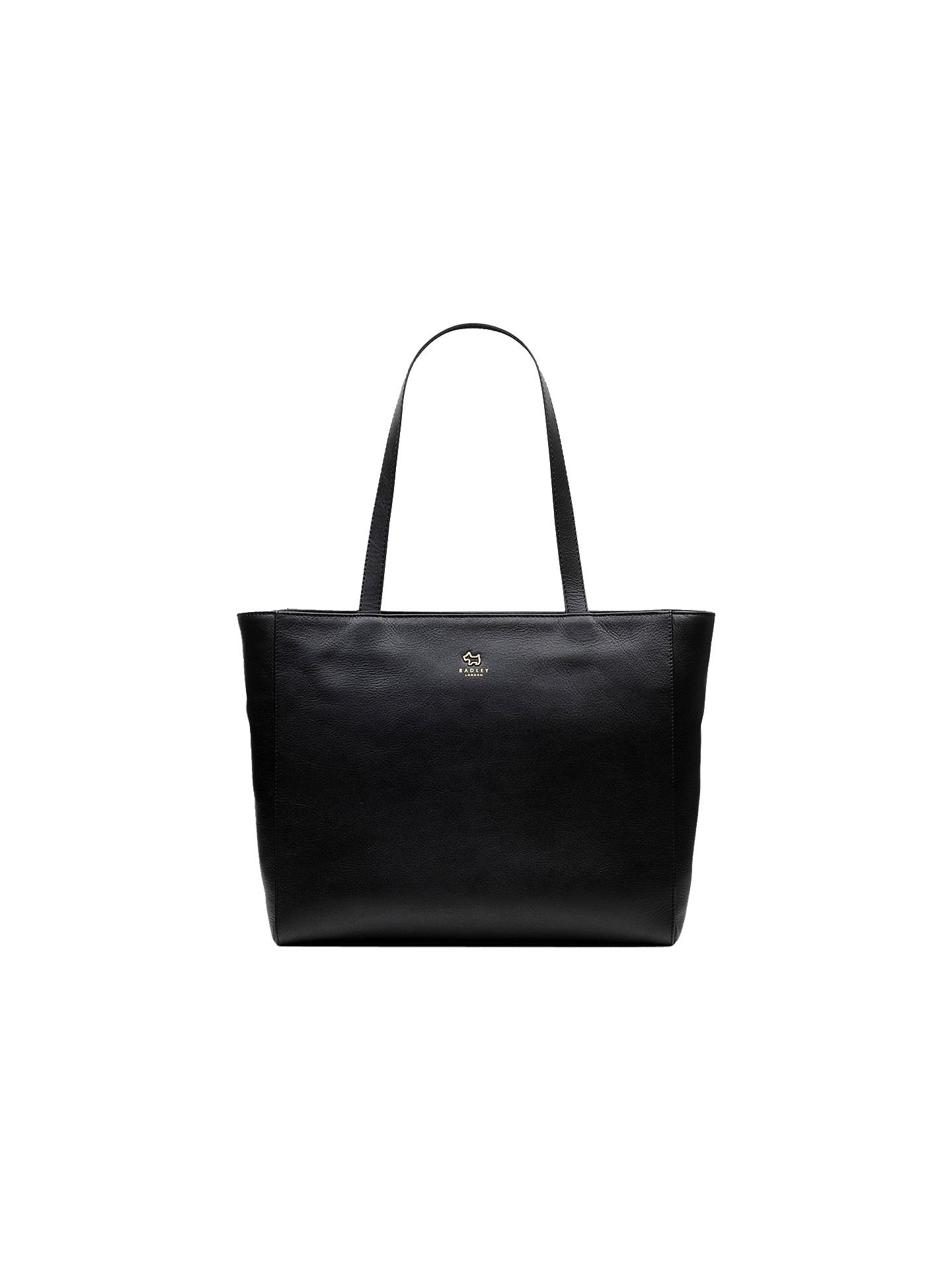 Radley Greyfriars Gardens Leather Large Tote Bag Black Online At Johnlewis