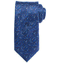 Buy John Lewis Scatter Dot Silk Tie, Navy/Blue Online at johnlewis.com