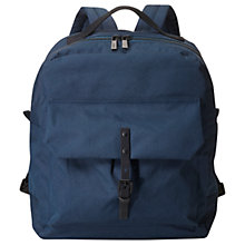 Buy Ally Capellino Ian Ripstop Nylon Backpack, Navy Online at johnlewis.com