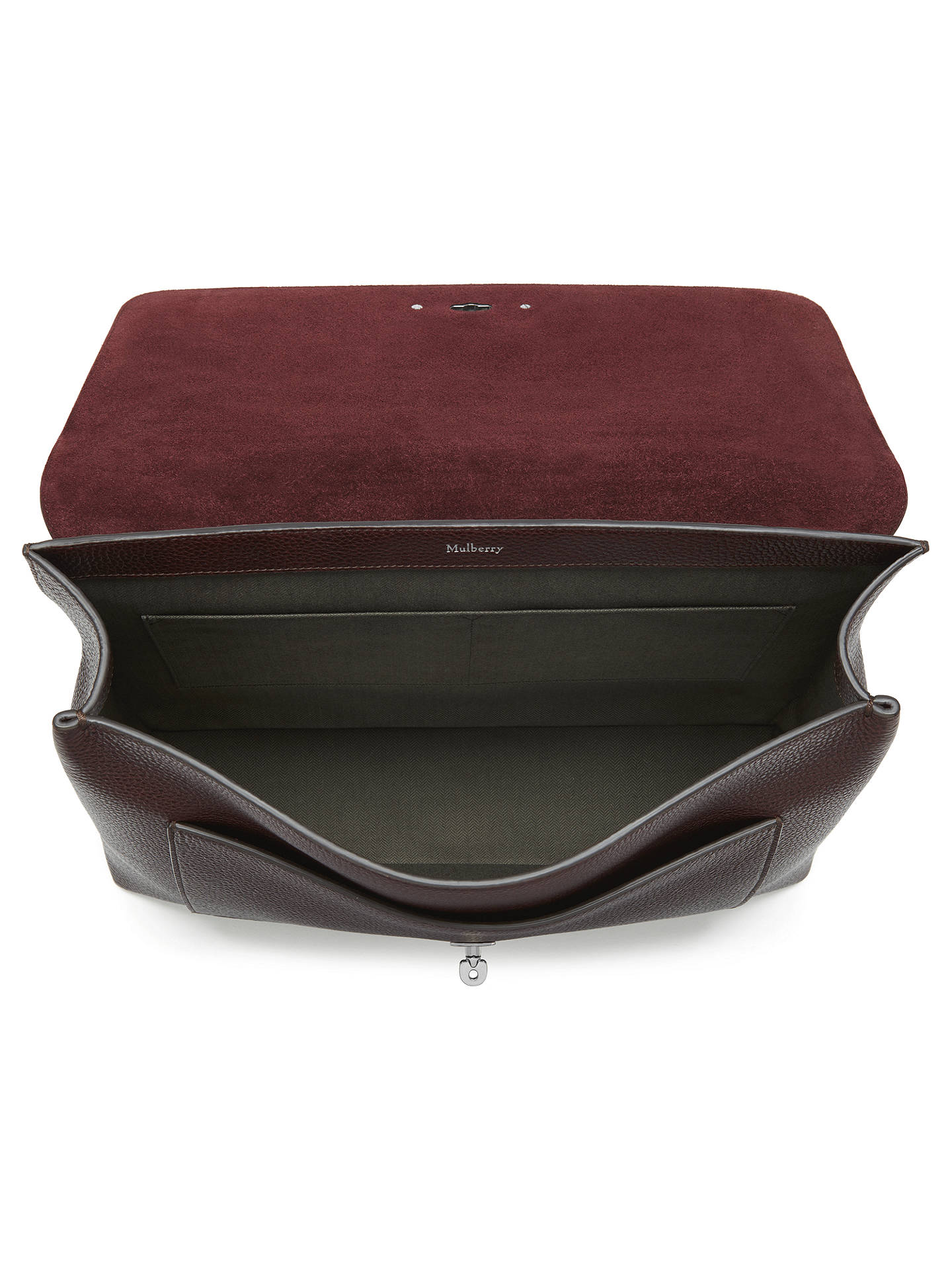 cfb052ace8 ... get buymulberry anthony east west messenger bag oxblood online at  johnlewis b17a4 acad1