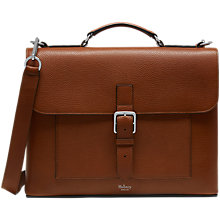 Buy Mulberry Chiltern Small Briefcase, Oak Online at johnlewis.com