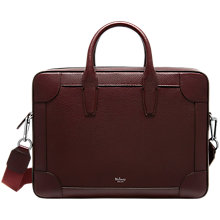 Buy Mulberry Belgrave Single Document Holder, Oxblood Online at johnlewis.com
