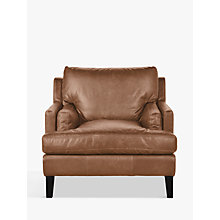 Buy Halo Canson Leather Armchair Online at johnlewis.com