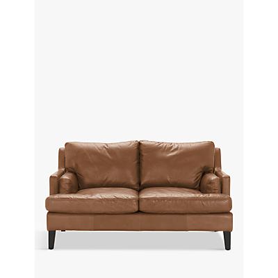 Halo Canson Medium 2 Seater Leather Sofa, Riders Nut